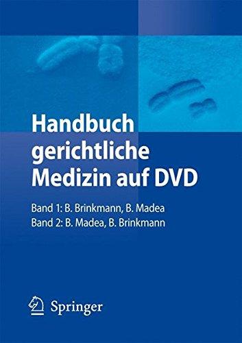 Handbuch gerichtliche Medizin auf DVD: Band 1 und 2 (Gericht Dvd)