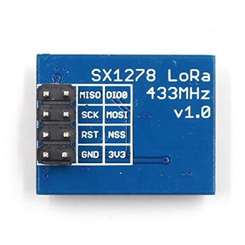 Pudincoco Small SX1278 Lora Module 433M 10KM Ra-02 Modulo Wireless  Ai-Thinker Diffusione di Spettro di Trasmissione Kit Fai-da-Te elettronico