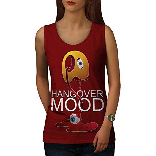 Seltsam Kater Cool Komisch Seltsam Spaß Damen S-2XL Muskelshirt | Wellcoda Rot
