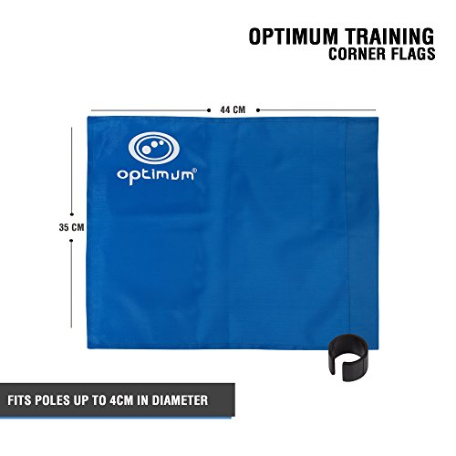Optimales Training Ecke Flagge, unisex, Training, blau