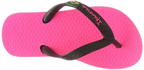 ssic Brasil II Kids Zehentrenner, Mehrfarbig (Pink/Black), 25/26 EU (Mädchen Ipanema Flip Flops)