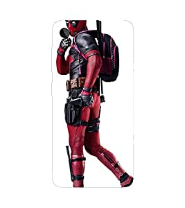 Deadpool Printed Back Cover for Lenovo ZUK Z2 Plus