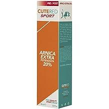 Cutered Sport Crema Arnica Extra Potenziata 20% 100ml • Sovraccarico muscolare • Traumi • Contusioni • Stiramenti • Strappi • Dolori