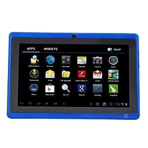 "Léliktec - Allwinner A13 - Tablette tactile - Disque dur 4GB HDD - Processeur 1.0 GHz - RAM 512MB - Wifi - Android 4.0.4 (Ice Cream Sandwich OS) - Ecran tactile 7"" - Bleu"