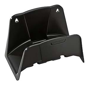 Schlauchhalterung schwarz Kunststoff für Staubsauger