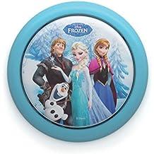 Disney Funcionamiento a Pilas Infantil Luz de Noche LED / Habitación de Los Niños Portátil Mesilla de Noche Lámpara / iCHOOSE / Frozen