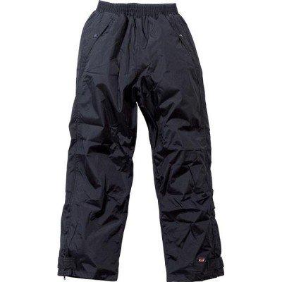 Atmungsaktive Bundhose, wasserdicht, Polyester/PU-Material, schwarz (XL)