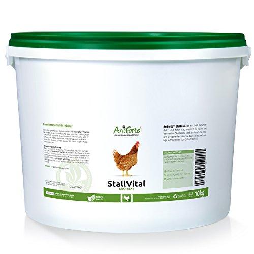 AniForte StallVital Granulat 10kg - für keimfreies Stallklima - für Hühner