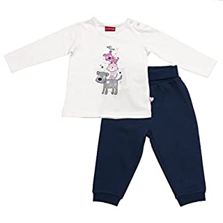 Salt and Pepper B Set Longsleeve Little Ones Ensemble, Multicolore (Off White-Dutch Blue), 9 Mois Bébé Fille (B01F53X06C) | Amazon price tracker / tracking, Amazon price history charts, Amazon price watches, Amazon price drop alerts