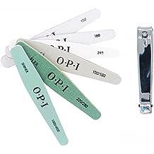 KINYOOO Kit de limas de uñas de doble cara (6 piezas) 150/180