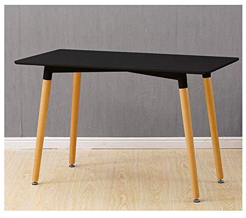 Ping Retro Beistelltisch Rund Holz Tisch Couchtisch Nachttisch Sofatisch Skandinavisch Weißes Schwarzes Geeignet Für Cafes,Black -