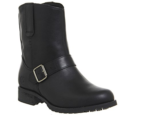 Timberland Banfield Mid Damen Stiefel Braun Jet Black Forty Leather
