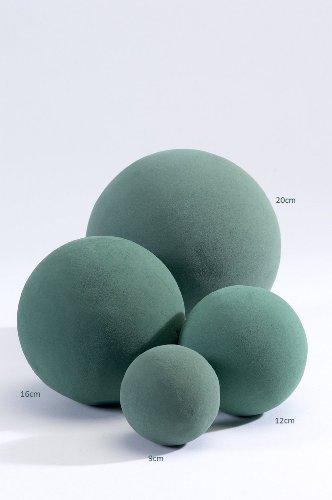 1 confezioni Oasis Wet per fioristi Ball (12cm).Fiori Freschi floreale Schiuma Sphere.