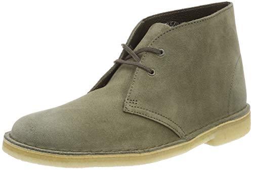 Clarks Originals Damen Boot-26138225 Desert Boots, Grün (Olive Suede), 38 EU (Clark Boot Wildleder)