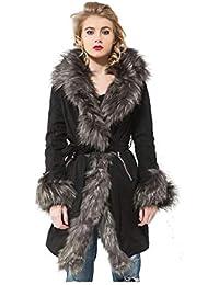 Osley fashion Manteau avec Fourrure synthétique 31367327ae5c