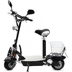 Patinete eléctrico Eco-Fun 20-2de Rolektro, plegable, homologado para 20km/h de velocidad máxima, sin obligación de casco, alcance aprox.de 30km, motor eléctrico de 500W