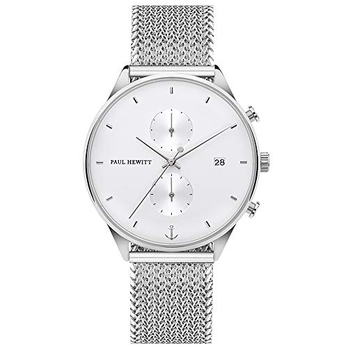 PAUL HEWITT Cronografo uomo e donna Chrono Line White Sand - orologio da...