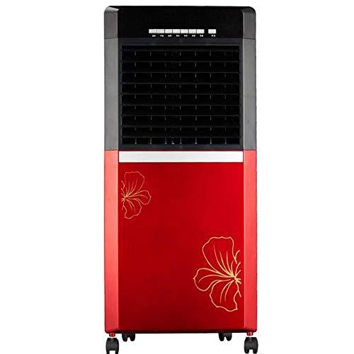 WSJTT Luftkühler, tragbarer Mini-Klimaanlagenlüfter Geräuschloser Verdunstungsluftbefeuchter für den Schreibtisch-Nachttisch im Zimmer mit Fernbedienung, Zeitsteuerung und Pendelfunktion
