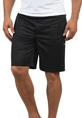!Solid Leando Herren Sweatshorts Kurze Hose Jogginghose Mit Kordelzug Stretch Regular Fit, Größe:XL, Farbe:Black (9000) -