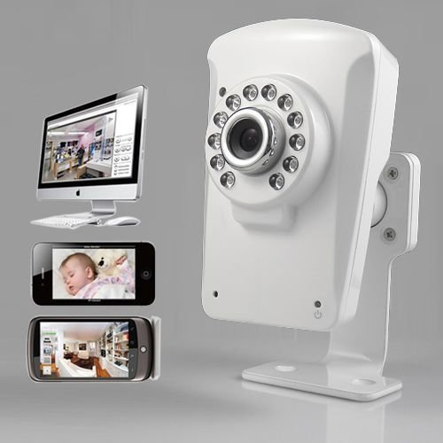 NEW SIMPLE 3 ESCALON INSTALAR CON IPAD  IPHONE Y ANDROID APP PARA DETECCION DE MOVIMIENTO  VISION NOCTURNA POR INFRARROJOS PARA INTERIOR REAL PLUG & PLAY KIT DE CAMARA P2P IP INALAMBRICO PARA TU HOGAR  BUSINESS DE SEGURIDAD Y BABY MONITOR CCTV CAMARA