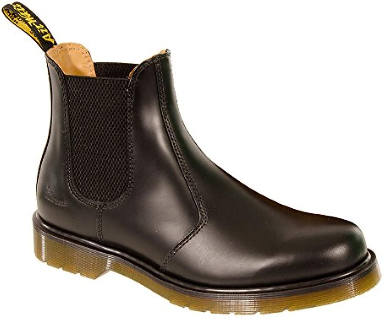Dr. Martens - Botas de cuero para hombre negro negro 10 UK
