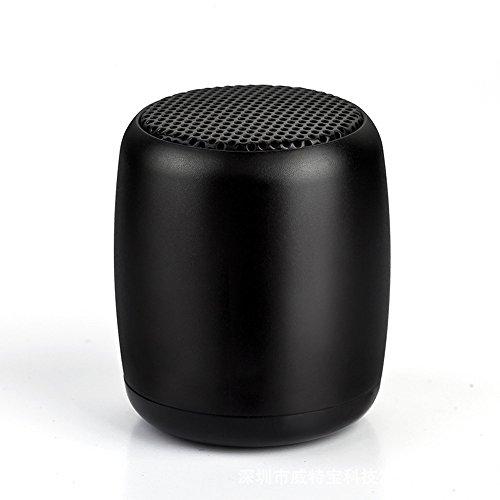 SHOBDW Super-Bass Altavoz portátil Bluetooth SoundCore Inalámbrico Llamadas manos libres con batería de litio recargable Micrófono incorporado para smartphones HuaWei, XiaoMi, Nexus, HTC, iPhone y iPad, etc Negro
