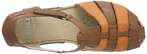 Caprice24551 - Sandali Donna Marrone (Braun (COGNAC/ORANGE 361))