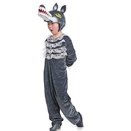 Wolf Kostüm Für Kleinkinder - LOLANTA Kostüm für Kinder Tierkostüm