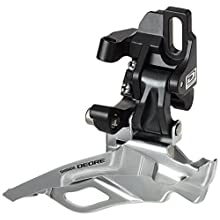 Shimano Deore FD-M611D6L Direct Mount Triple Front Derailleur - Black, 10 Speed
