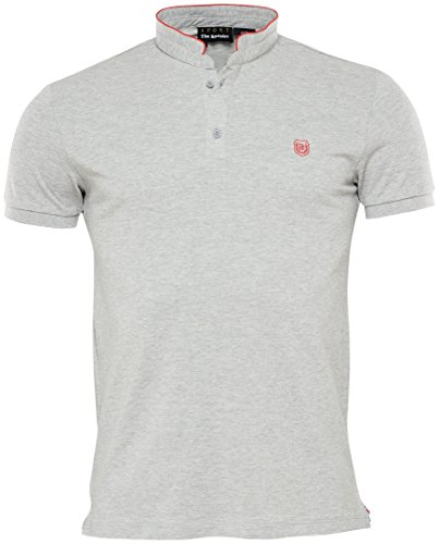 The Kooples Sport ShinyFitted Poloshirt fitted Grau