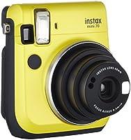 Fujifilm Instax Mini 70 Kamera inkl. Batterien und Trageschlaufe, Sofortbild gelb