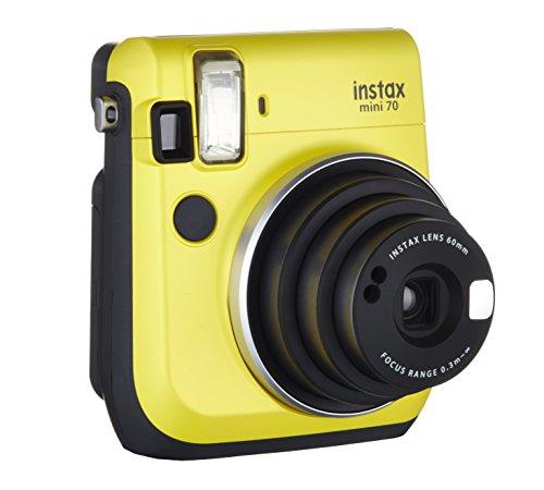 fujifilm-instax-mini-70-kamera-inkl-batterien-und-trageschlaufe-sofortbild-gelb