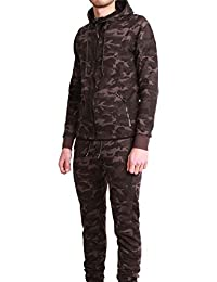 Ensemble Survêtement Jogging Tech Cabaneli Camo