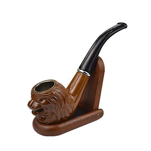 Mkxiaowei Carving-Pfeife Rauchen Box Verpackung Abnehmbare Reinigung Farbfilter Pfeife Rauchen Pfeife Set Drucken