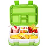 [Updated Version] Jelife Bento Lunch Box Kids with 5 Compartments BPA Free Leakproof