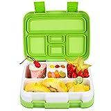 Jelife 【Upgrade Version】 Bento Box Kids, Brotdose Kinder Auslaufsicher, Kinder Lunchbox mit 5 Unterteilungen