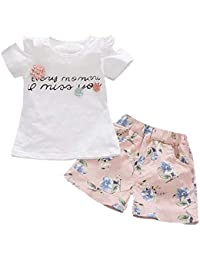 JYC Conjunto de Ropa para Niñas,Conjuntos para niñas Bebe,Niñito Niños Bebé Niña