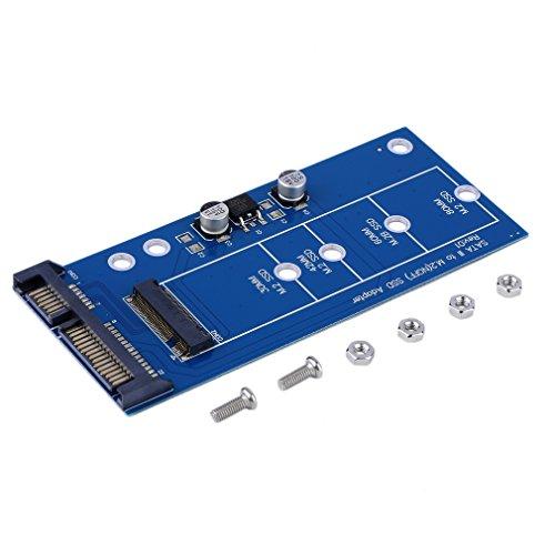 Preisvergleich Produktbild guoxuEE M2 NGFF SSD-SATA-SSDs verwandeln den SATA-Adaptererweiterungskartenadapter SATA in NGFF