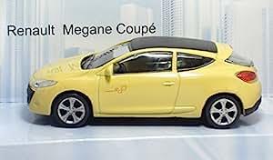 Renault Megane Coupe, jaune, voiture miniature, Miniature déjà montée, Mondo Moteurs 1:43