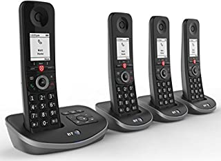 BT Advanced Cordless Home Phone with 100% Nuisance Call Blocking and Answering Machine, Quad Handset Pack (B0787N6748) | Amazon price tracker / tracking, Amazon price history charts, Amazon price watches, Amazon price drop alerts
