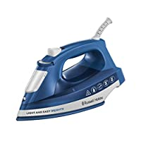 Russell Hobbs Steam Iron 2400W, 24830GCC, Blue, 1 Year Brand Warranty