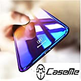 Planet Jas For Apple Iphone X Baseus Colorful Gradual Protective Skin PC Hard Back Cover Light Slim Glaze Case For Iphone 10/ IPhone X (2017)- Blue Dual Tone