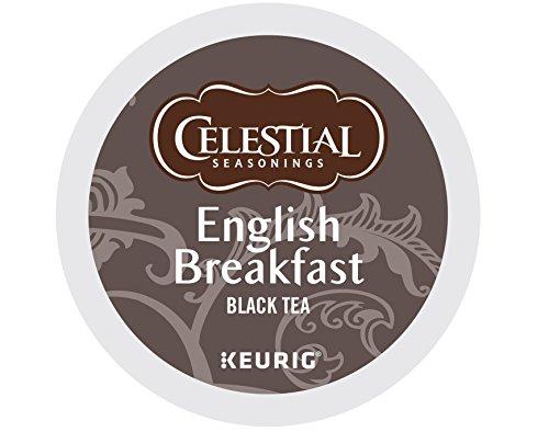 Keurig, Celestial Seasonings, English Breakfast Tea, K-Cup packs, 72 Count