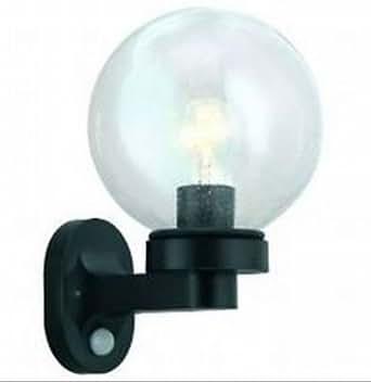 eglo aussenlampe aussenleuchte wales 1 13388 schwarz klarglas bewegungsmelder sensor e27 60w. Black Bedroom Furniture Sets. Home Design Ideas