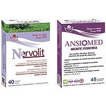 Bioserum - Pack Ansiomed Mente Positiva 45 Cápsulas + Nervolit 40 Cápsulas - Regula de forma