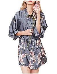 Kimono Mujer Batas,Morbuy Camisón de la Boda para el camisón Nupcial de la Novia