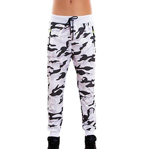 Toocool - Tuta uomo felpa cappuccio pantaloni sport cerniera fitness cotone nuova S67 pantaloni 3