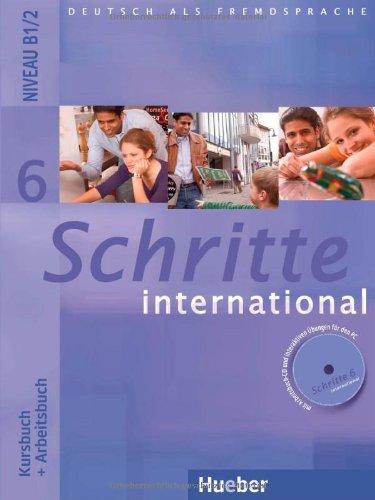 Schritte international 6: Deutsch als Fremdsprache/Kursbuch + Arbeitsbuch mit Audio-CD zum Arbeitsbuch und interaktiven Übungen