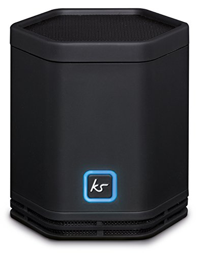 Galleria fotografica KitSound Pocket Hive 5W Black - portable speakers (5 W, Wired & Wireless, NFC/Bluetooth/3.5 mm, Micro-USB, Black, Other)