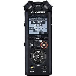 Olympus PCM LS-P2 - Grabador de sonido digital portátil, color negro